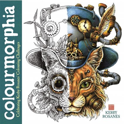 Colourmorphia: Celebrating Kerby Rosanes' Colouring Challenges, Kerby Rosanes