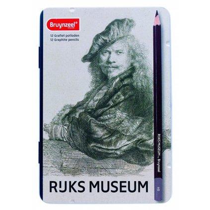 Bruynzeel, Rijsk museum, 5702M12, sada grafitových tužek, 12 ks