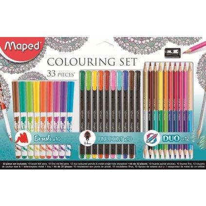 Maped, 897417, výtvarná sada Maped Colouring, 33 ks