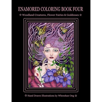 Enamored colouring book 4, Whee-Shan Ong