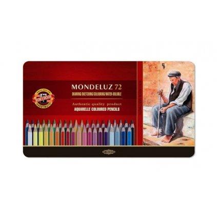 Koh-i-noor, 3727072001PL, Mondeluz, souprava akvarelových pastelek, 72 ks