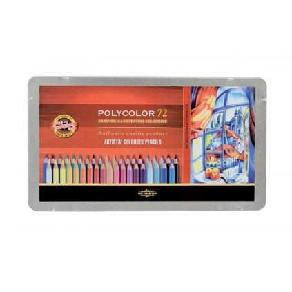 Koh-i-noor, 3827072001PL, Polycolor, souprava uměleckých pastelek, 72 ks