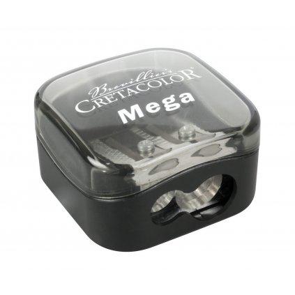 Cretacolor, Mega duo, dvojité ořezávátko pro silné tužky, 1 ks