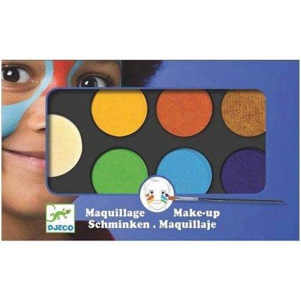 MFP, 6330539, barvy na obličej, 12 ks