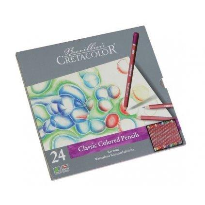 Cretacolor, 270 24, Karmina, umělecké pastelky, 24 ks