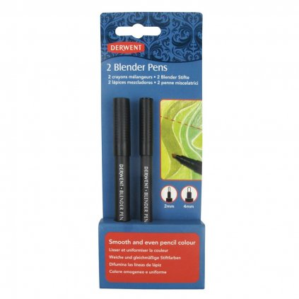 Derwent, 2302177, Blender pens, blender fix, 2 ks