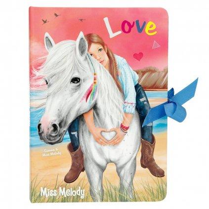 Miss Melody, 1175555, zápisník se samolepícími bločky