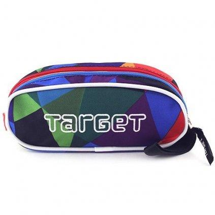 Target, 053995, školní penál, maskáčové kostky