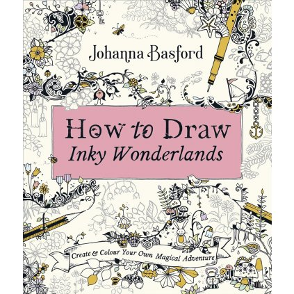 How to Draw Inky Wonderlands, Johanna Basford