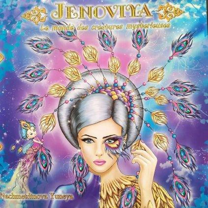 Jenoviya, antistresové omalovánky, Yunea Nachmetdinova