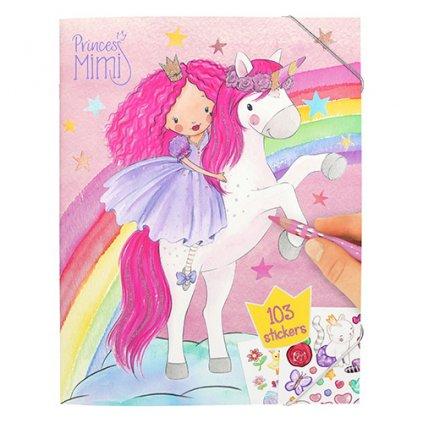 Princess Mimi, 2962812, kreativní sešit se samolepkami