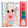 House of Mouse, 1175461, Fingerprint fun, omalovánky s prstovými barvami