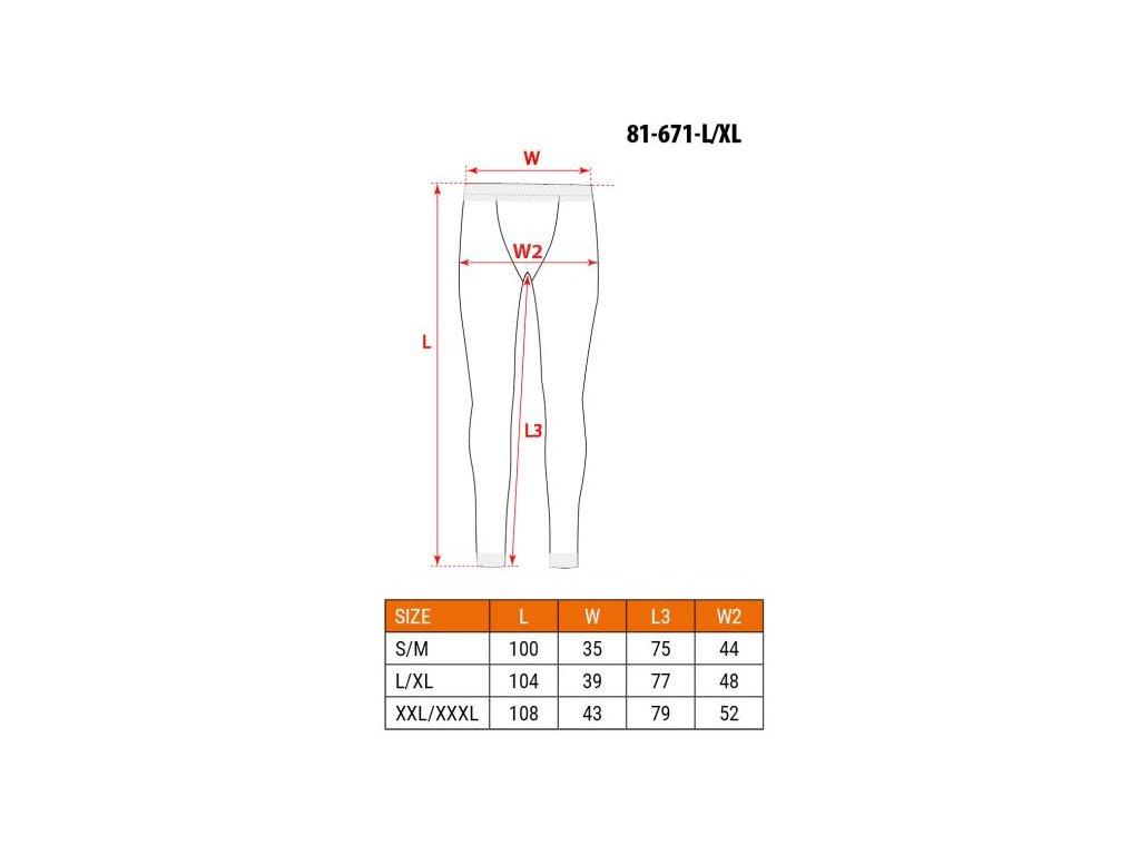 Termo kalhoty, BASIC