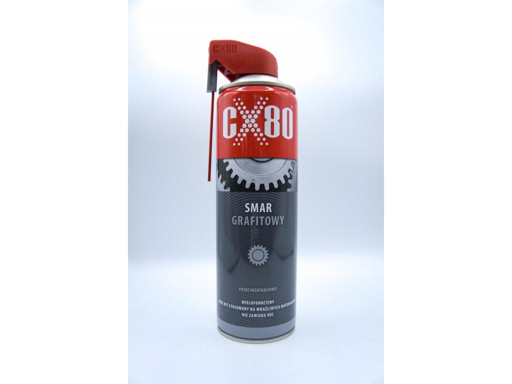 CX80 Grafitové mazadlo, spray, 500ml