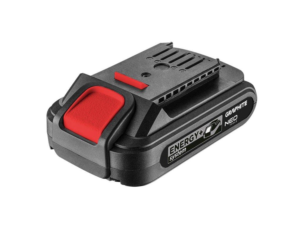 Baterie 18V 2,0 Ah. 58G001