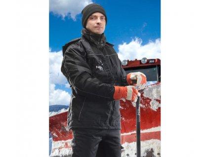 Zimní čepice - černá