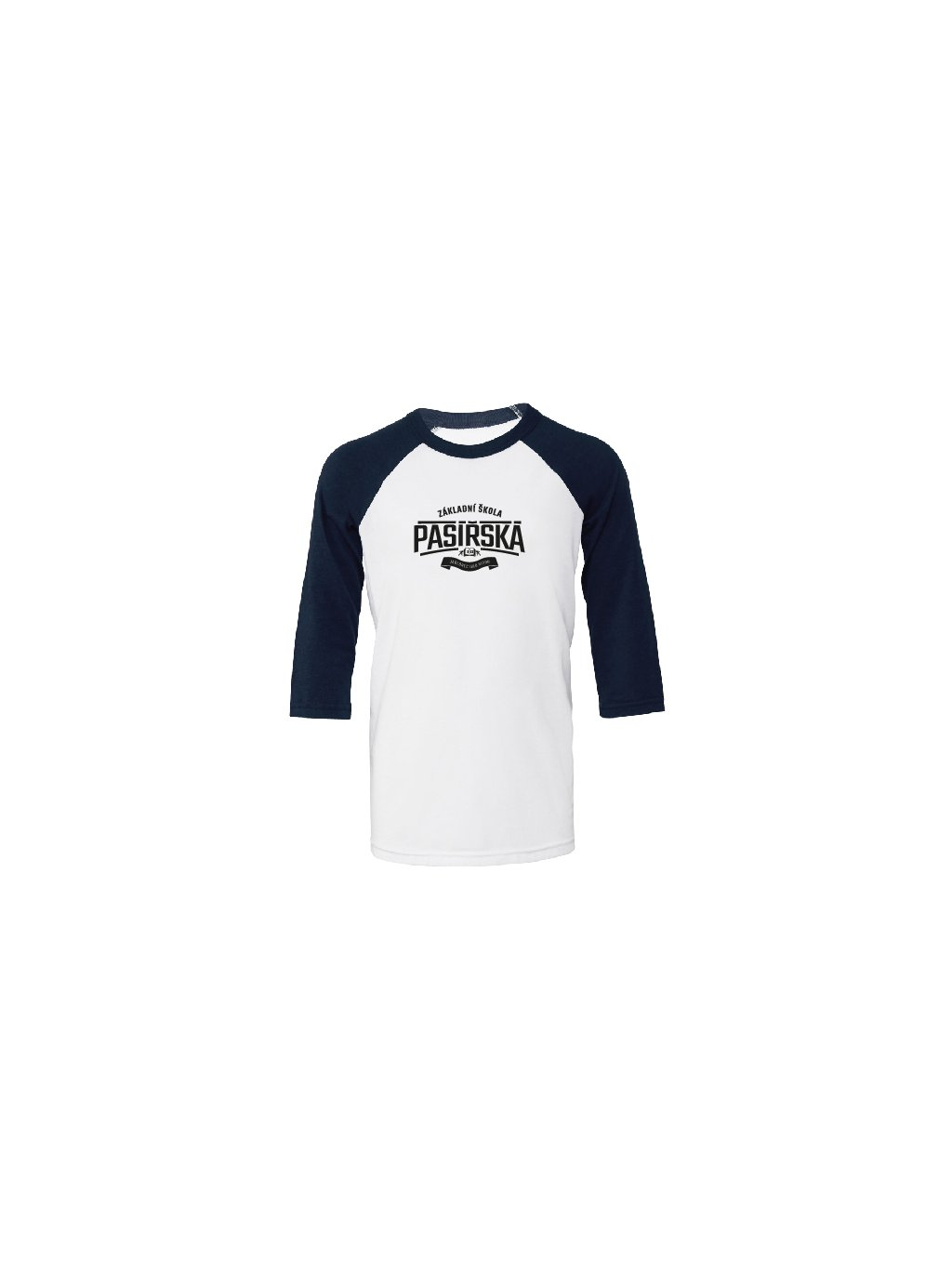 baseball detske white navy 168