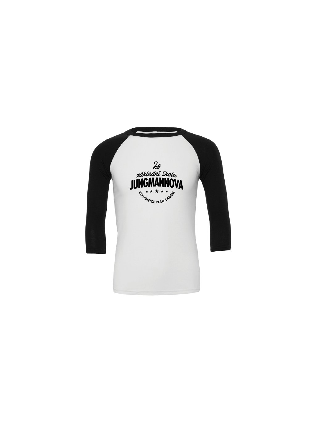 Baseball tee white black!!!