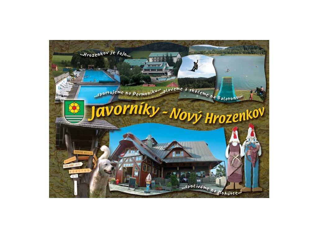 Pohlednice Javorníky - Nový Hrozenkov