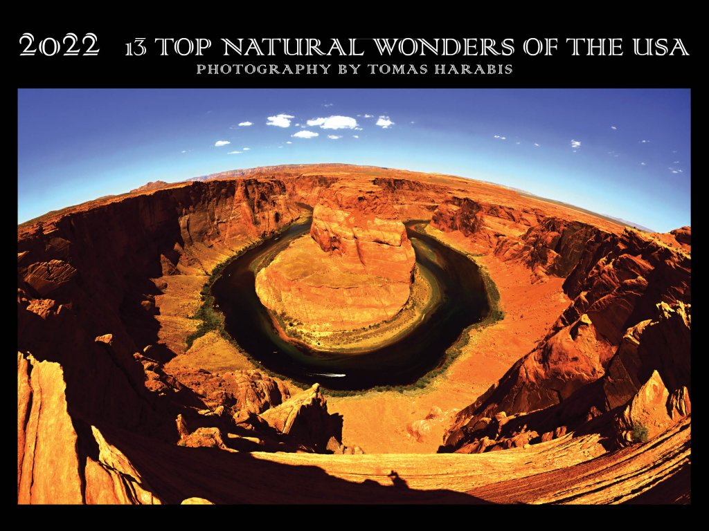 20201009 kalendar 13 top natural wonders of the USA