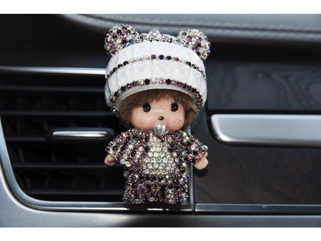 mončičák mini poppi vůně do auta panda