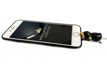 Tučňák, ochrana na napájecí kabel