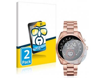 Ochranné sklo, folie na chytré hodinky michael kors smartwatch bradshaw 2 2PACK