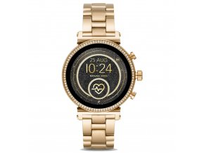 Michael Kors Access smartwatch Sofie Heart Rate Pavé MKT5062, ZLATÉ