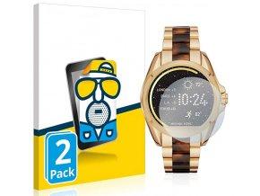 Ochranné sklo, folie na chytré hodinky michael kors smartwatch bradshaw 2pack