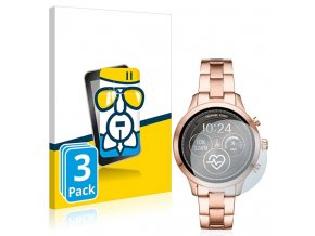 Ochranné sklo, folie na chytré hodinky michael kors smartwatch runway 3pack