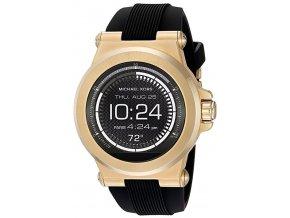 Michael Kors, Smart Watch touch screen MKT5009, pánské chytré hodinky, černozlaté, silikonové