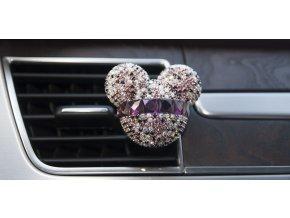 mickey mouse osvěžovaž vzduchu do auta auto vůně doplněk kamínky ozdoba