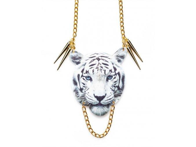 Dámský Náhrdelník - Suzywan Deluxe - tygr - plast -TY1