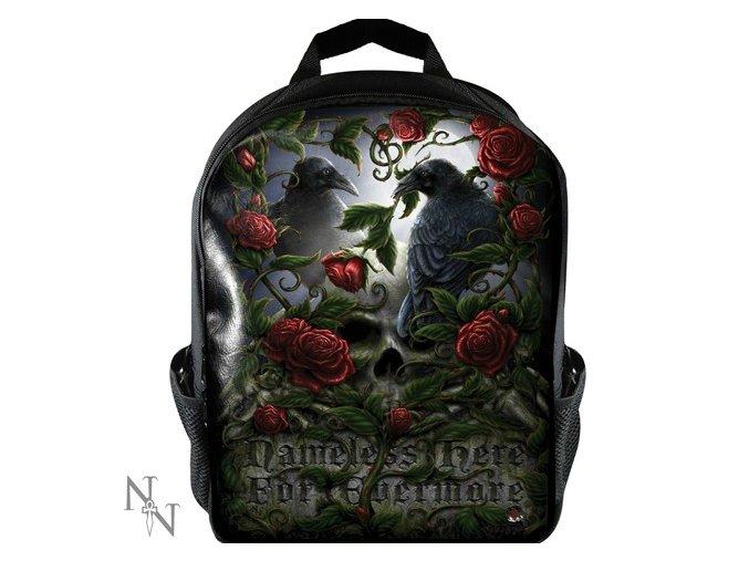 Nemesis Now - Batoh Vrány 10l  černý