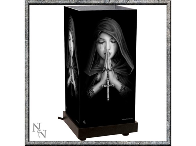 Lampička Nemesis Now Gothic Prayer