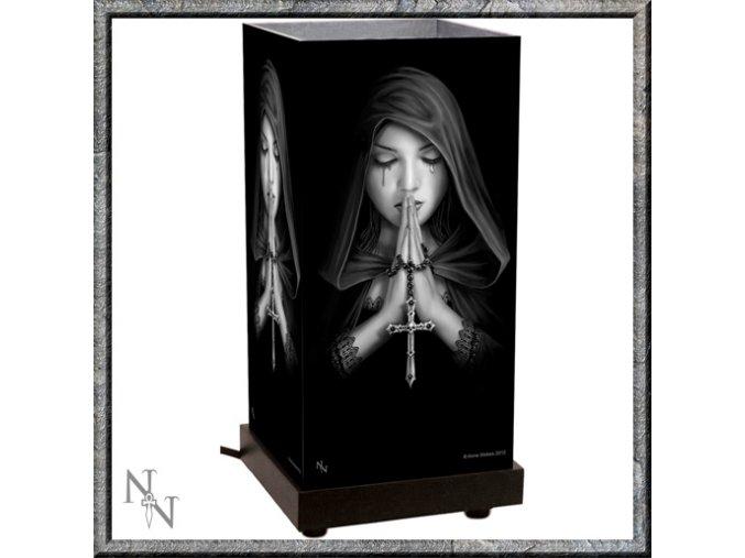 Stolní lampička -  Nemesis Now -  Gothic Prayer