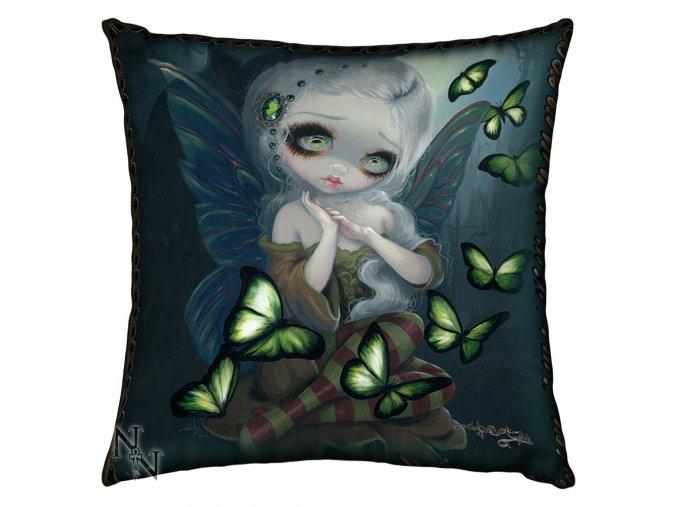 Polštář Absinthe Butterflies  42 x 42 Nemesis Now