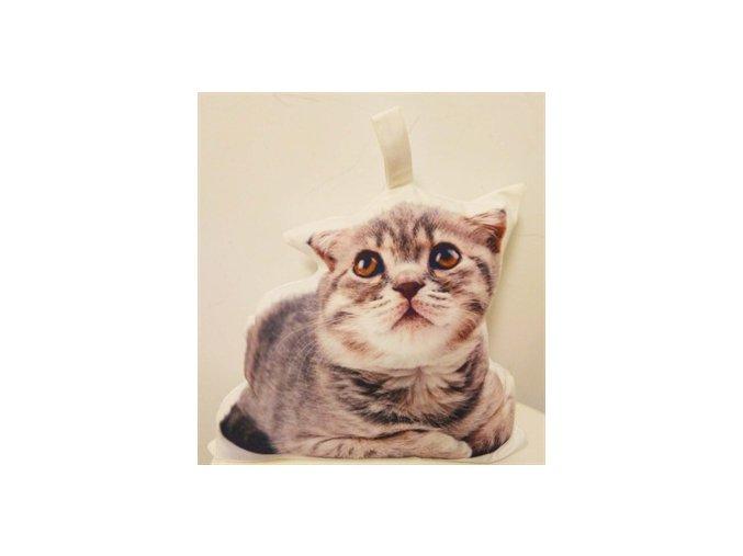 Dveřní zarážka Kočka textilní