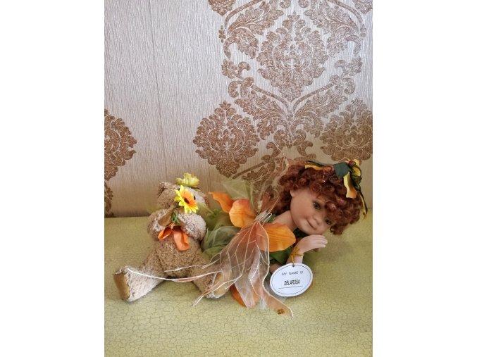 Delarosa  porcelánová panenka - Ross Stewart