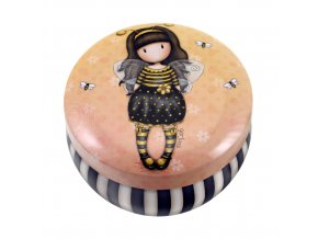 242JB Gorjuss Trinket Tin Bee Loved 1 WR