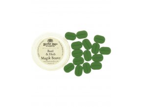 Vonné vosky  basil and herb  do aroma lamp - Bussy bee Candles 25g