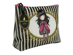 714GJ01 Gorjuss Stripes Large Accessory Case Ladybird 1 HR