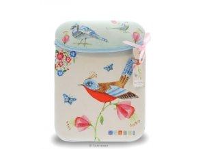 Pouzdro Watercolour Birds -Santoro London