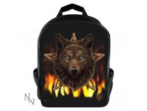Nemesis Now - Batoh vlk 10l - černý