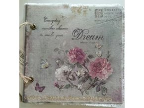Zápisník - památník  růže