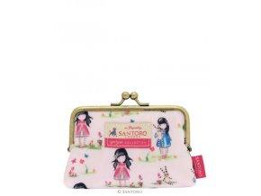 Santoro London - Peněženka se sponou  - Gorjuss - Pastel Pattern Print Ladybird