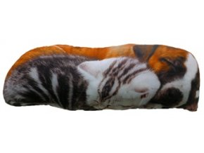 Polštář štěně a kotě  60 x 20