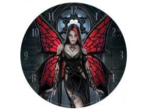 Nástěnné hodiny - Nemesis now- Pavoučí víla