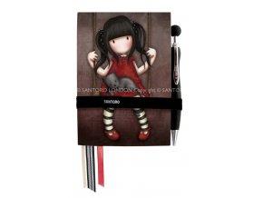 230EC55 Gorjuss Hardcover Notebook Little Red Riding Hood 1 WR
