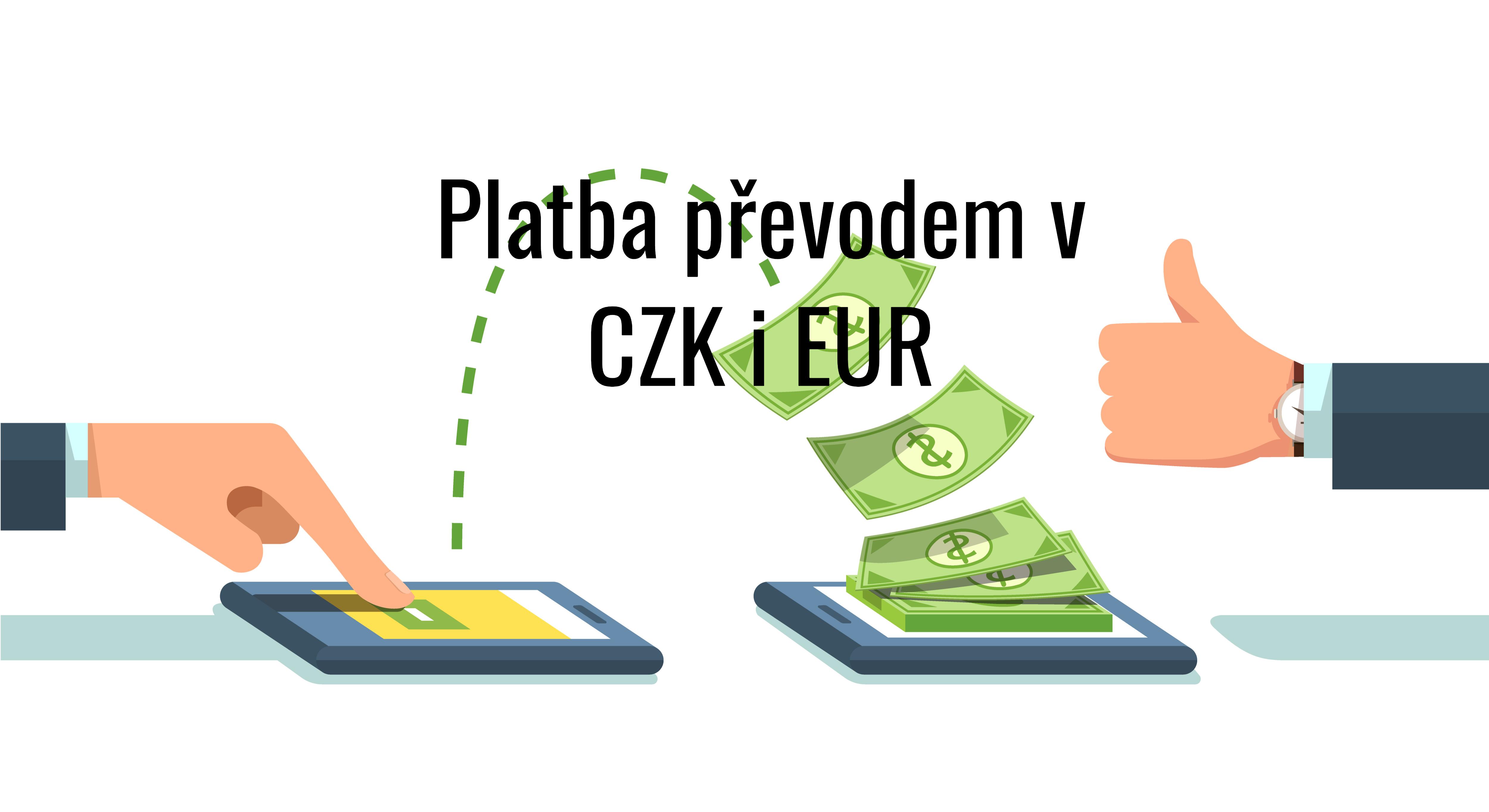 Platby na účet v EUR od 25.6.2019